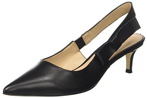Guess Damen Footwear Dress Sling Back Pumps, Nero (Black), 39 EU
