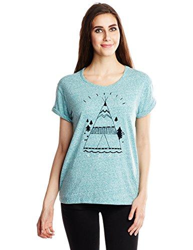 Roxy Damen T-Shirt Boyfriend türkis - Fanfare