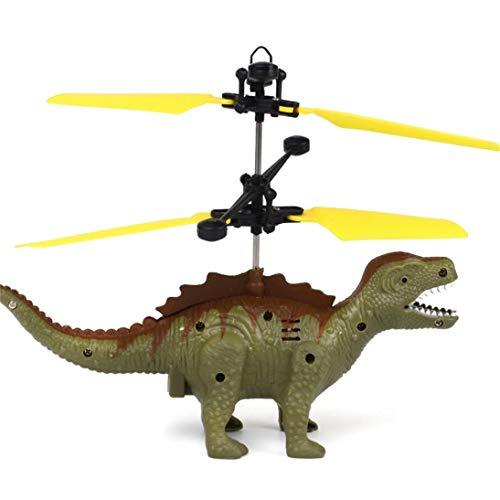TAOtTAO Hand Fliegen Dinosaurier LED Mini Induktion Suspension RC Flugzeuge Fliegen Spielzeug Drohne ()