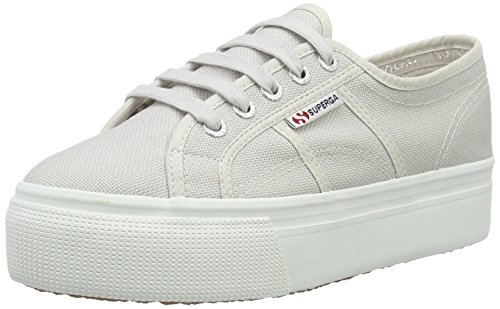 Superga 2790-Acotw Linea Up And Down, Chaussons Sneaker Adulte Mixte GREY SEASHELL