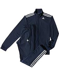 Adidas TS Entry - Chándal para Hombre, color Maruni / Azul Marino / Blanco