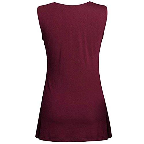 KIMODO T Shirt Damen Sommer Bluse Damen Top ärmellos Reine Farbe Lose Freizeithemd Blusen Große Größe Schwarz Grün Violett Mode 2018 - 2