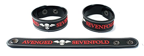 Avenged Sevenfold nuovo. Bracciale A7 X 28 N