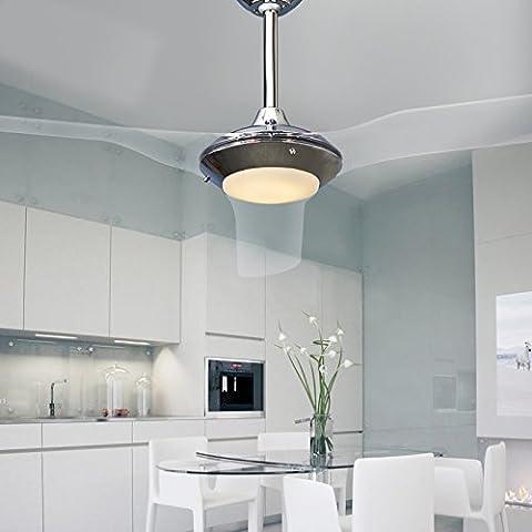 Moderno 52 pollici decorativo ventilatori a soffitto