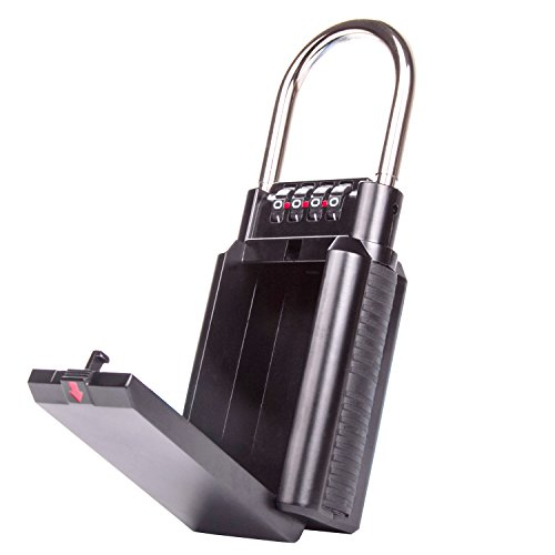 Schlüsselsafe, AKUNSZ Master lock mit Schloss zur Schlüssel Aufbewahrung mit Zahlenschloss - Große Kapazität Schlüsselkasten um Ihre Schlüssel zu schützen und sicher zu teilen Keysafe (Master Lock Schlüsselsafe)