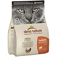 holistic cat adult mangime secco per gatti gusto tacchino e riso kg.2