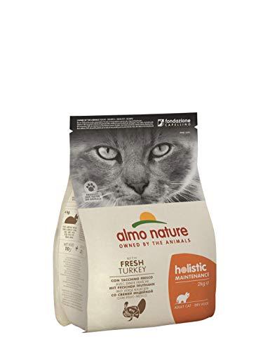 Almo Nature - Holistic - Nourriture pour chat - Dindon / Riz - 1 x 2kg