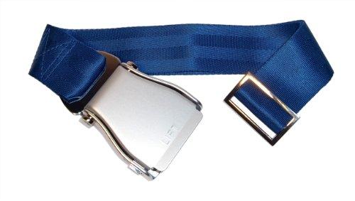 skybelt-avin-cinturn-plata-azul-airline-seat-belt-