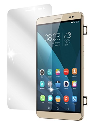 dipos I 2X Schutzfolie klar passend für Huawei MediaPad X2 Folie Bildschirmschutzfolie