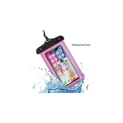Anastasia.S wasserdichte Schutztasche Wasserdichten Handy-Fall für iPhone X Xs Max Xr 7 8 Universal-Schwimmen Unterwasser-Dry-Beutel-Beutel-Kasten für Samsung für Xiaomi Smartphone, Rosa - Anmerkung 3 Handy-kästen Für