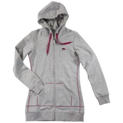 Chiemsee Women`s Sweat Jacket 'Abba' grey