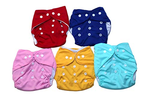 Cute Newborn Infant Cover Adjustable Reusable Washable Cloth Diapers Baby Nappy