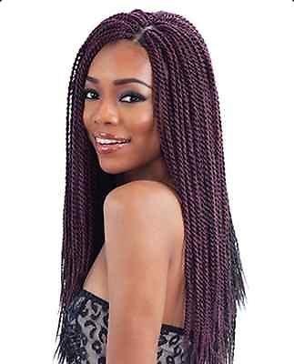Becret - extensions in capelli kanekalon, stile africano, intrecciati, 90 cm