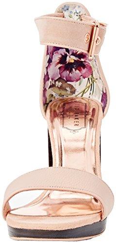 Ted Baker Lorno, Sandales compensées Femme Rose (Light Pink)