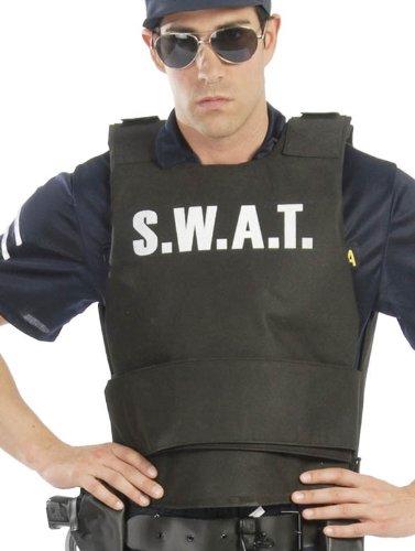 Kugelsichere Kostüm Weste - Fiestas Guirca Kugelsichere Weste für Polizei-Verkleidung