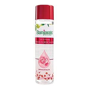 Banjara's Premium Rose Water, 600 ml