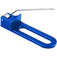Descanso de Flecha magnética para Caza Tiro con Arco Arco recurvo Profesional para Mano Derecha(Azul)