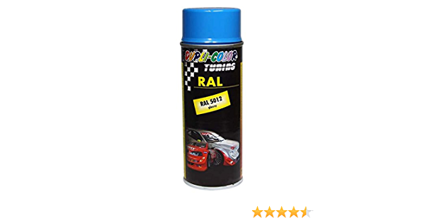 Dupli Color 238109 Lackspray Spray Paint Ral 5012 Glänzend 400 Ml Auto