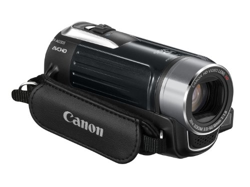 Canon LEGRIA HF R16 AVCHD-Camcorder (Dual-Flash-Memory, 20-fach opt. Zoom, 6,7cm (2,7 Zoll) Display) schwarz