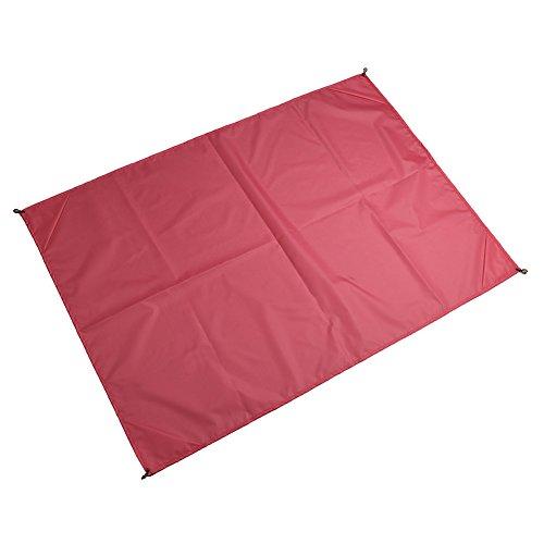 LaDicha 145 X 150Cm Wasserdicht Strandmatte Portable Camping Picknick Matte Baby Klettern Bodenmatte Schlafmatte - Hellgrau