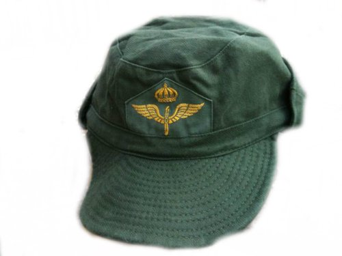 swedish-air-force-issue-fatigue-cap-peaked-cap-summer-cap-with-logo