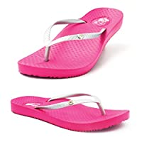 "FootActive ""Tiki Girl"" Orthotic Flip-Flops 