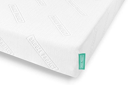 Snooze Project Matratze 200 x 220 x 21 cm - Härtegrad H2 H3 Mittel-Hart - Kaltschaum RG 50 Schaumstoff - Allergiker-geeignet und Öko-Tex 100 zertifiziert - 100 Tage Probeschlafen