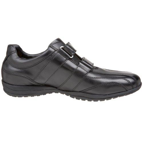 Geox U City Sport U9383V, Herren Sneaker Schwarz (Blackc9999)