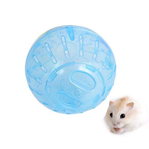Fliyeong Hamster-Laufball, gesundes und sicheres Mini-Run-Übungsball für Kleintiere - Leicht zu reinigen - Blau