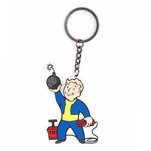 Fallout 4 Portachiave Keychain Explosives Skill Video Games