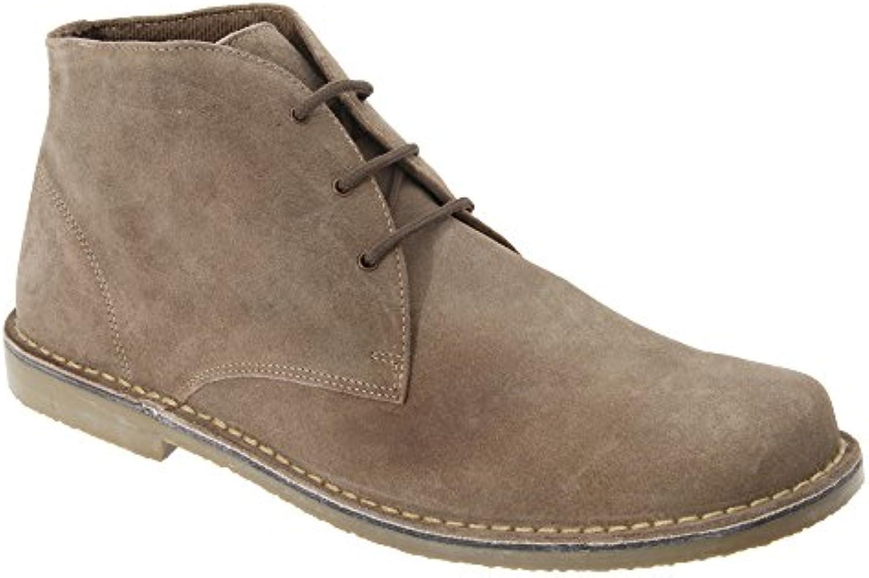 Roamers Herren Wildleder Wüsten Schuhe  Billig und erschwinglich Im Verkauf