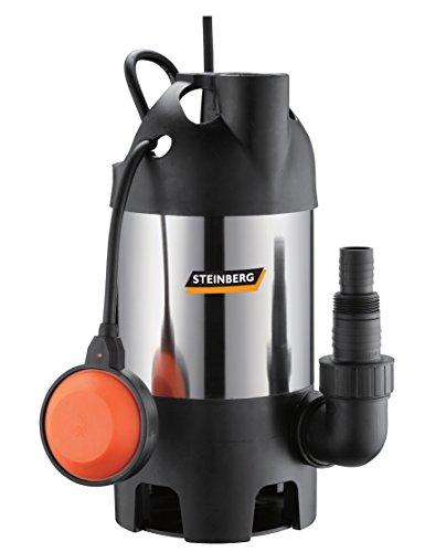 Steinberg-46024-Bomba-para-aguas-residuales-Acero-Inoxidable-PZ-600-Inox-hasta-8000-Lh-caudal