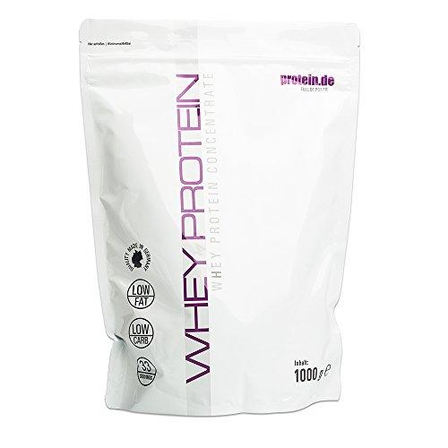 #Whey Protein 1000g Packung Ultrafiltriertes Molkeprotein Konzentrat Perfekte Löslichkeit 33 Portionen Geschmacksrichtung Schokolade#