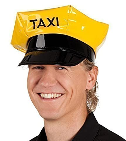 Ladies Mens Taxi Designated Driver Hen Stag Do Fancy Dress Costume Outfit Hat