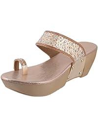 Metro Women Synthetic Sandals