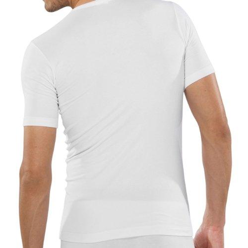 Schiesser Herren Unterhemd Shirt 1/2 Arm Grau (202-grau-mel.)