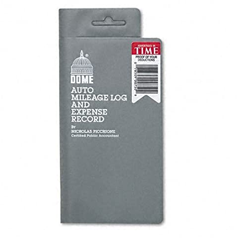 Dome® Auto Mileage Log and Expense Record by DomeSkin