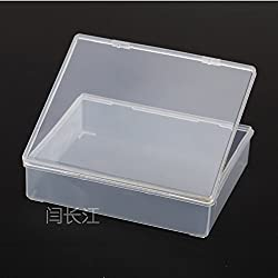 GENERIC R995 Pp Transparent Plastic Box Rectangular Box Flat Box Product Packaging