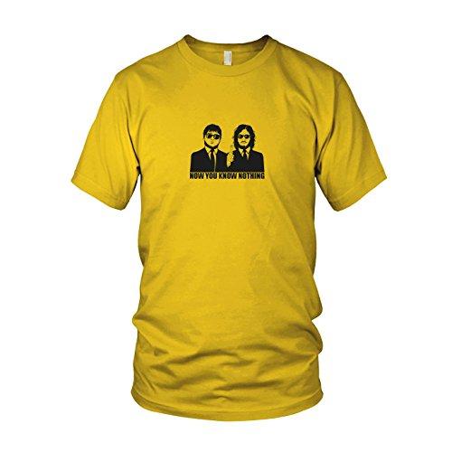 GoT: Blitzdings - Herren T-Shirt, Größe: L, Farbe: gelb