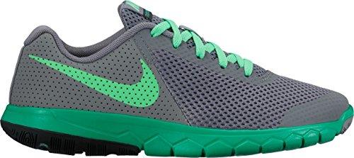 Nike Flex Experience 5 Gs, chaussures de course garçon Gris-Vert