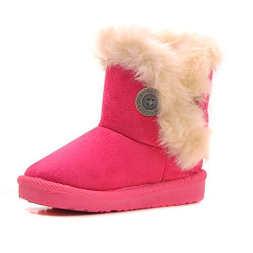 edited Winter-Kinder-Normallack-Kinderschnee-Stiefel dick halten warme Schuhe Stiefel & Stiefeletten