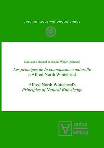 Les Principes de la Connaissance Naturelle D'Alfred North Whitehead (Chromatiques Whiteheadiennes)