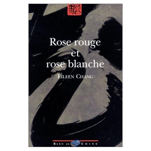 Rose rouge et rose blanche