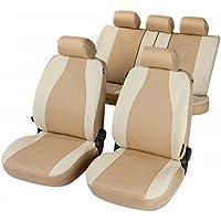 RMG r31V117Asientos para KA fundas coche color beige claro y oscuro COMPATIBLES con asientos con airbag braciolo y asientos sdoppiabili