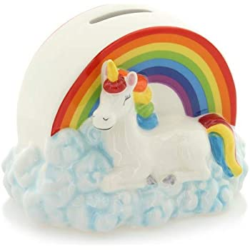 New Rainbow Unicorn Money Box