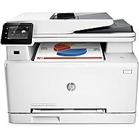HP Color LaserJet Pro M277dw Farblaserdrucker Multifunktionsgerät (Drucker, Scanner, Kopierer, Fax, WLAN, LAN, Duplex, HP ePrint, Airprint USB, 600 x 600 dpi) weiß