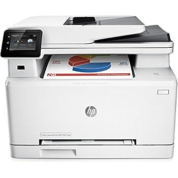 "HP LaserJet Pro M277dw Stampante Multifunzione, Display 3"", Touch Screen LCD, 600 x 600 DPI, A4, RAM 256 MB, Wi-Fi, Grigio"