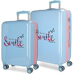 MOVOM Always Smile Juego de maletas, 67 cm
