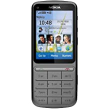 Handy Nokia c3-01.5 Touch and Type Silber Ohne Simlock