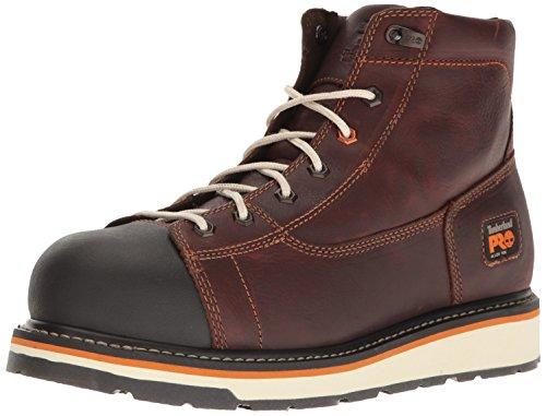 Timberland Pro - Männer 6 In Gridworks Al Shoe, 43 2E EU, Dark Brown